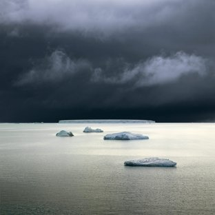 Five Icebergs, Weddell Sea