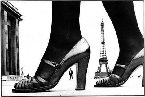 Paris, for Stern, shoe and Eiffel Tower A