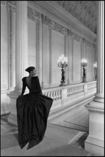 Paris, for L'Officiel, evening dress D