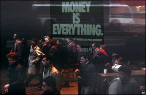 "New York, ""money is everything"""