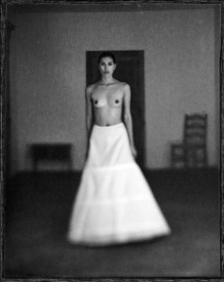 French Indochina nude in hall
