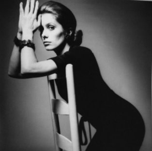 Catherine Deneuve for Vogue