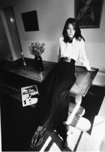Charlotte Rampling, Paris, Vogue